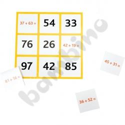 Bingo dodawanie i odejmowanie w zakresie 100