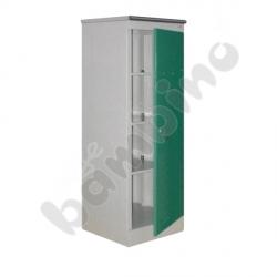 Szafka medyczna z 3 półkami drzwi zielone