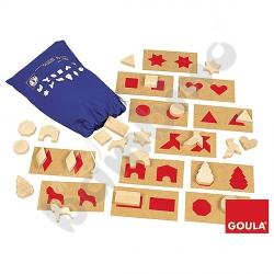 Tabliczki i kształty czerwone
