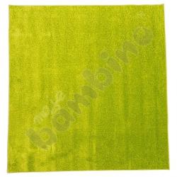 Dywan jednokolorowy - zielony 2 x 2 m
