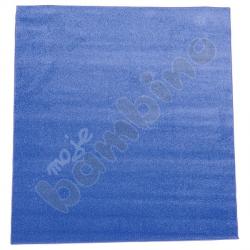 Dywan jednokolorowy - niebieski 2 x 2 m