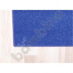 Dywan jednokolorowy - niebieski 2 x 3 m