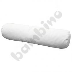 Białe wałki - 120 cm