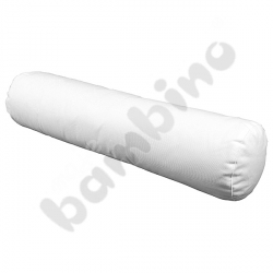 Białe wałki - 80 cm