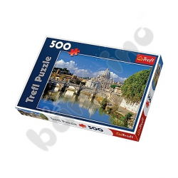 Puzzle 500 Watykan, Rzym, Włochy