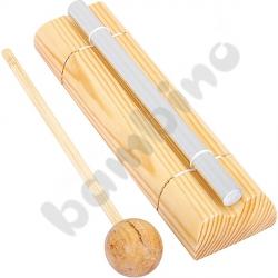 Metalowe dzwonki rurkowe pojedyncze