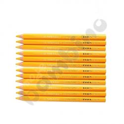 Kredki Color Giants 12 szt. - żółte