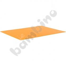 Karton gładki 10 arkuszy o wym. 50 x 70 cm pomarańczowy
