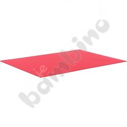 Karton gładki 10 arkuszy o wym. 50 x 70 cm czerwony