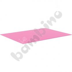Karton gładki 10 arkuszy o wym. 50 x 70 cm różowy