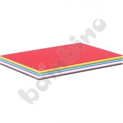 Karton gładki 100 arkuszy A4 10 kolorów