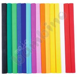 Bibuła karbowana kolorowa