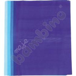Bibuła 50 x 70 cm tonacja niebieska