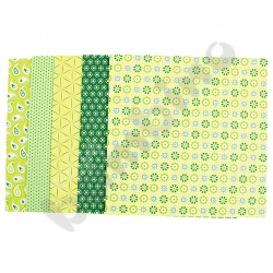 Papier do składania zielony