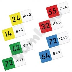 Mnożenie - domino