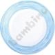 Talerzyk deserowy Brush - niebieski