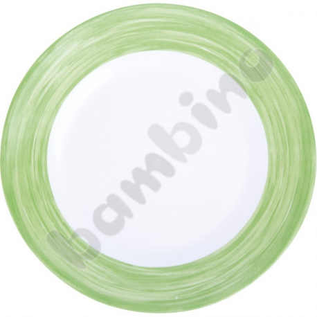 Talerzyk deserowy Brush - zielony