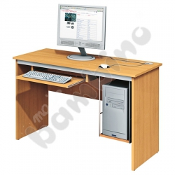 Stolik komputerowy LUX buk