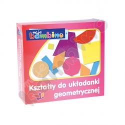 Kształty do układanki geometrycznej