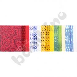 Blok papierów dekoracyjnych – kwiaty