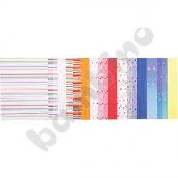 Blok papierów dekoracyjnych – abstrakcja