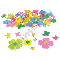 Kwiatki, serca, ważki - kształty
