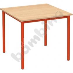 Stół świetlicowy Mila 80 x 80 cm - buk
