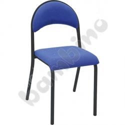 Krzesło P tapicerowane czarne