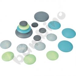 Kamienie do ćw. manualnych - pastelowe