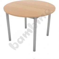 Niski stół kawowy Expo śr. 80 cm