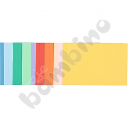 Blok rysunkowy A4 z kolorowymi kartkami