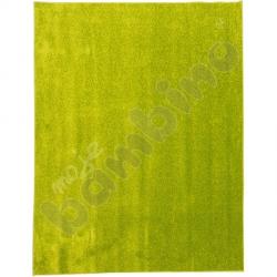 Dywan jednokolorowy - zielony 4 x 5 m