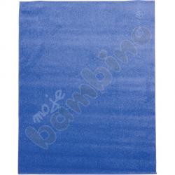 Dywan jednokolorowy - niebieski 4 x 5 m